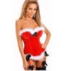 供应1022红色束身衣情趣圣诞服/性感圣诞装/新款圣诞装/情