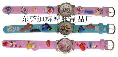 大量供应PVC手表带、新款手表带、钟表礼品、透明手表带、硅胶手表带