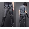 修身 男士西裤 个性后口袋装饰 韩版 休闲直筒裤