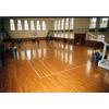 供应广州佛山江门体育馆室内木地板篮球场场地木地板羽毛球场地