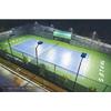 供应网球场专用灯光内外热镀锌网球场灯柱普通网球场灯柱