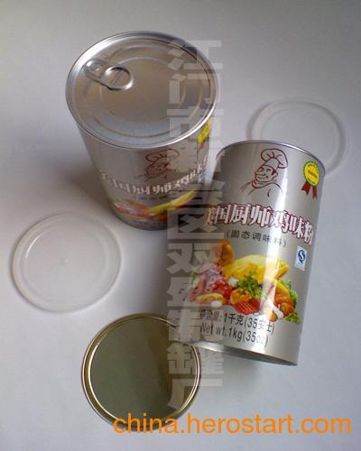 供应广东鸡粉,鸡精纸罐包装