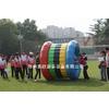 供应北京拓展活动趣味运动会动感五环滚筒充气跨栏组合学校春季运动会