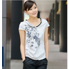 供应韩版女式短袖圆领T恤