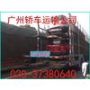 供应春节轿车托运往返 广州到新疆乌鲁木齐私家车运输