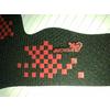 供应红色硅胶丝印织带