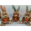 供应毛绒玩具---爱吃萝卜的兔子