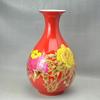 供应景德镇中国红瓷瓶红釉瓷 礼品 瓷瓶 工艺品