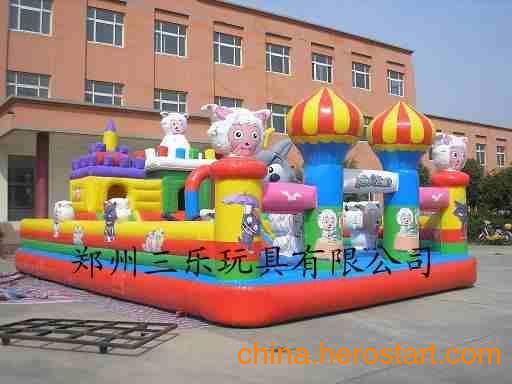 供应中型充气蹦蹦跳跳床儿童气包玩具城堡价格多少钱/价格实惠质量好