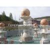供应 风水球 石雕风水球喷泉 大理石风水球 、水转球