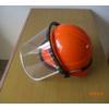 供应V字型塑料安全帽 建筑施工头盔式安全帽