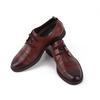 厦门鞋子 厂家直销 华哥龙登牌真皮男士休闲鞋 圆头皮鞋批发