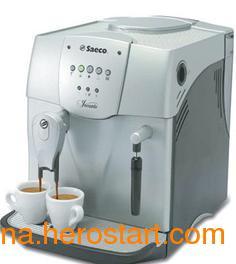 供应银黑色全自动意式咖啡机