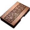 供应定制个性礼品,中高档礼品订做,花梨实木名片盒-天香款