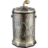 供应亿丽家百兴图高款青古铜垃圾桶