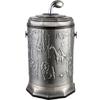 供应亿丽家百兴图高款钛古银垃圾桶