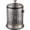 供应亿丽家百兴图6升手开盖钛古银垃圾桶