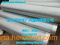 供应地源热泵井用滤水管