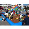 供应广场游乐场小本经营项目--儿童游乐充气沙滩游戏