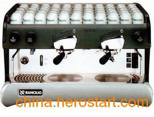 供应专业双头意式手控版半自动磨豆咖啡机