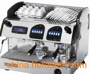 供应马库斯系列液显双头电子香浓半自动咖啡机