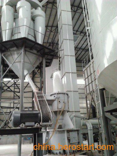 供应电厂脱硫设备 石灰石制粉新工艺 深湘柱磨机