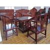 供应东阳红木家具品牌红木家具矮圈椅四方茶桌