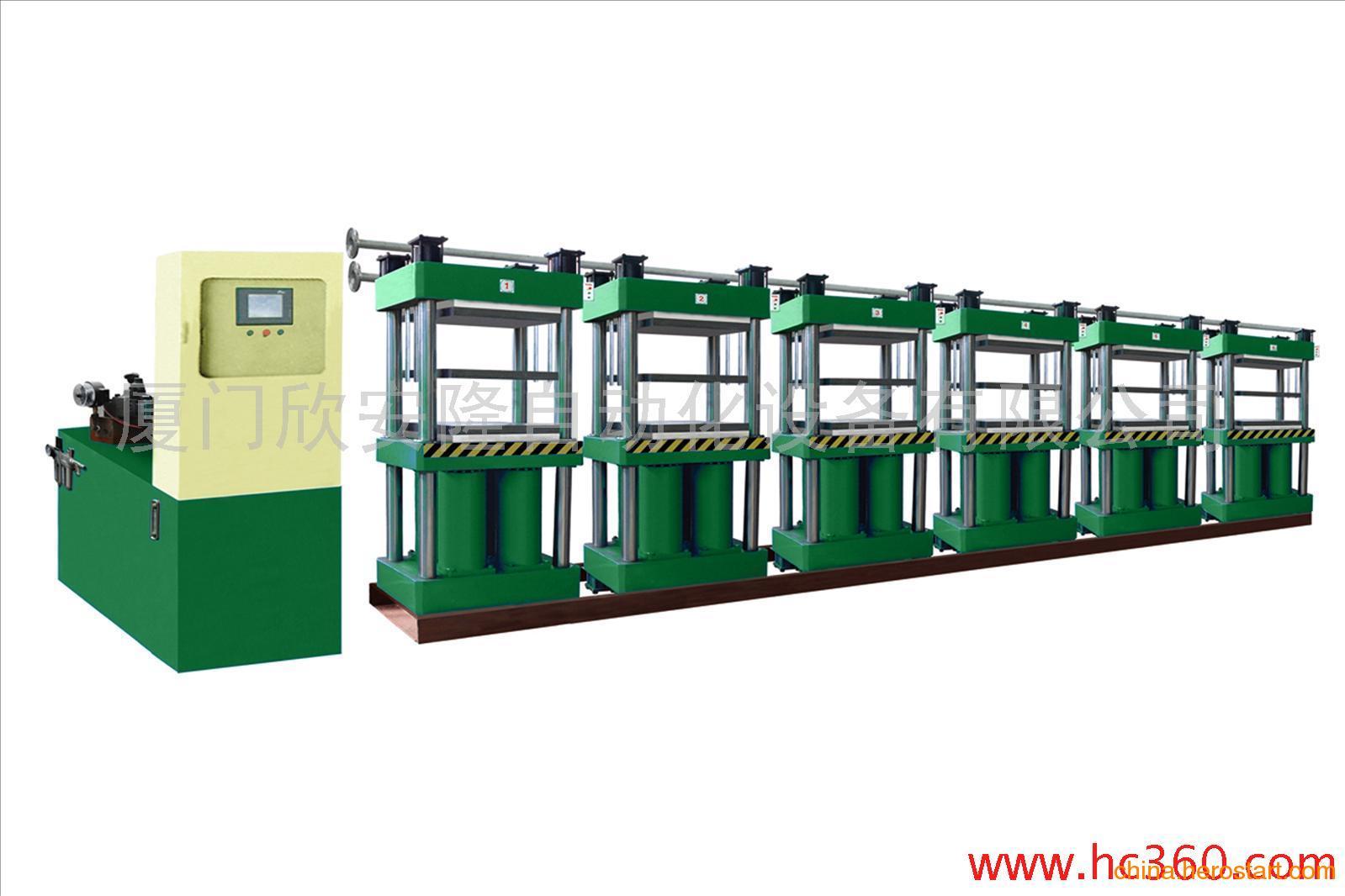 专业供应25T四柱硫化机