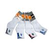 供应白色短统运动袜 休闲运动袜-广东袜厂