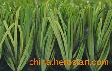 供应50S16N14G4包纱带筋单丝,受欢迎的足球场人造草,广州绿城人造草产品