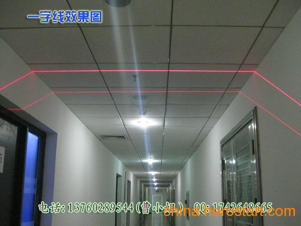 供应桥式切割机专用红外线划线仪 红光一字线定位灯