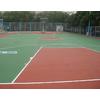 供应济南塑胶球场施工方案、报价---网球场施工