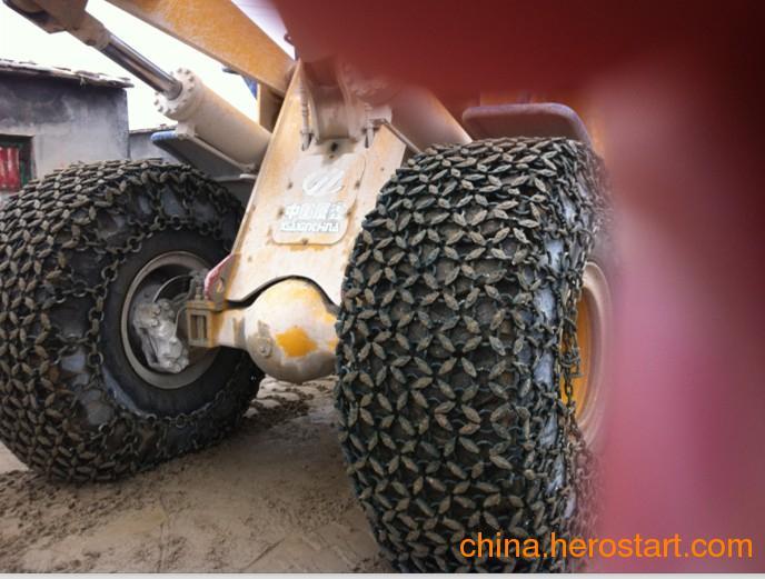 供应23.5--25加强型矿山轮胎保护链