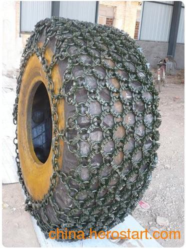 供应山兴牌坚固耐用钢厂型轮胎保护链