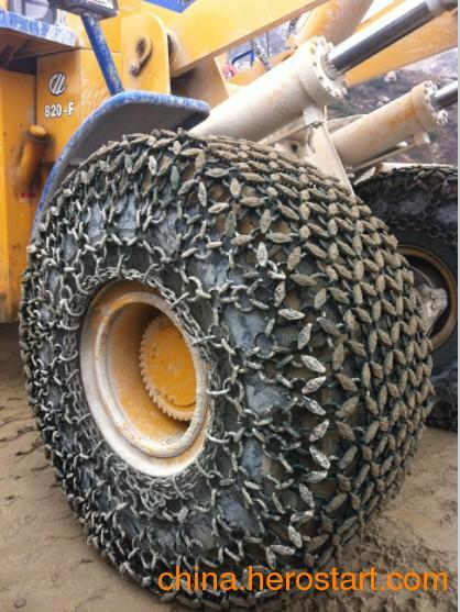 供应销售铲车轮胎保护链 1400/90-16