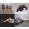 供应专业生产钢制平行地线卡线器 夹线器 卡头 夹头 紧线钳 夹线钳 鬼爪