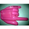 供应PVC充气玩具 充气手势  创意玩具