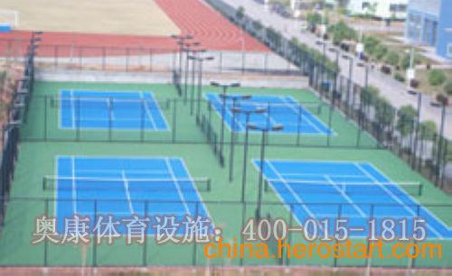 供应天津塑胶网球场施工