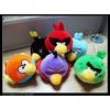 供应个性公仔Angry Birds Space愤怒的小鸟太空版公仔7CM挂件批发