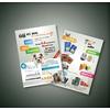 彩页塑料袋宣传册台历印刷 南京彩页宣传单印刷公司 南京印刷