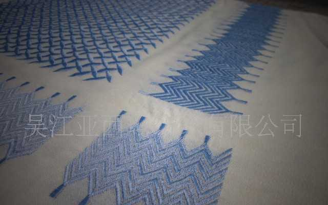 阿拉伯羊毛绣花头巾 围巾 YASHMAGH