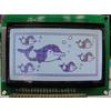 供应LCD/LCM YB12864ZB 中文字库点阵液晶显示模块/液晶屏/模组