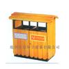 供应公园用垃圾桶木条垃圾箱