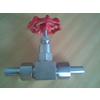 供应J23W外螺纹针型阀 不锈钢波纹管针型阀厂