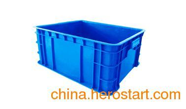 供应可带盖pp材质安徽周转箱厂家直销,安徽周转箱公司
