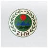供应铝合金环保徽制作厂,环保徽最大规格制作,防空徽加工制作订购
