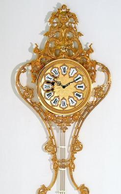 供应挂钟,工艺挂钟,金属挂钟,欧式镀金挂钟