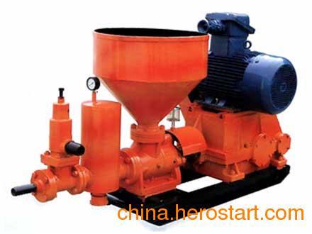 供应ZBL50/4-7.5煤矿用漏斗下料注浆泵