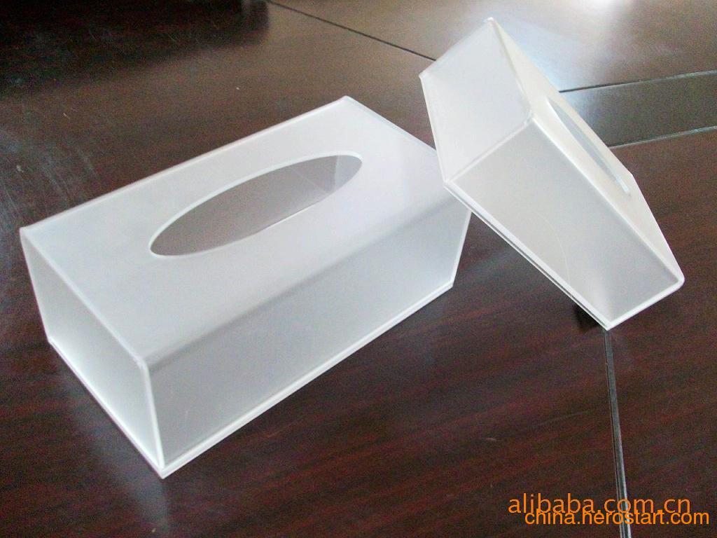 供应高品质亚克力纸巾盒