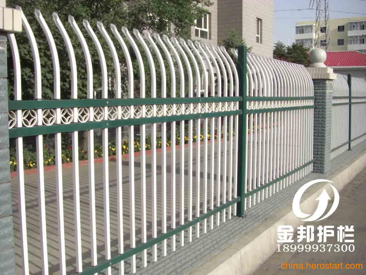 供应新疆围墙护栏,乌鲁木齐铁艺护栏,新疆铁艺护栏,新疆静电喷涂围墙图片